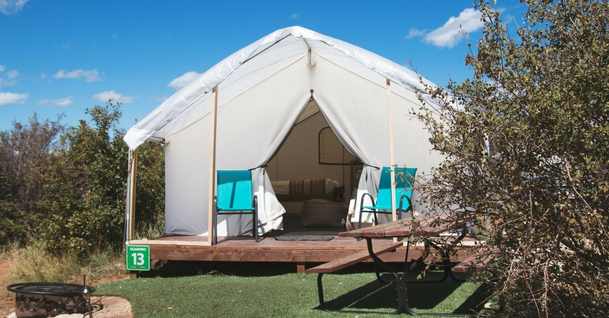 glamping package spark womens leadership retreat