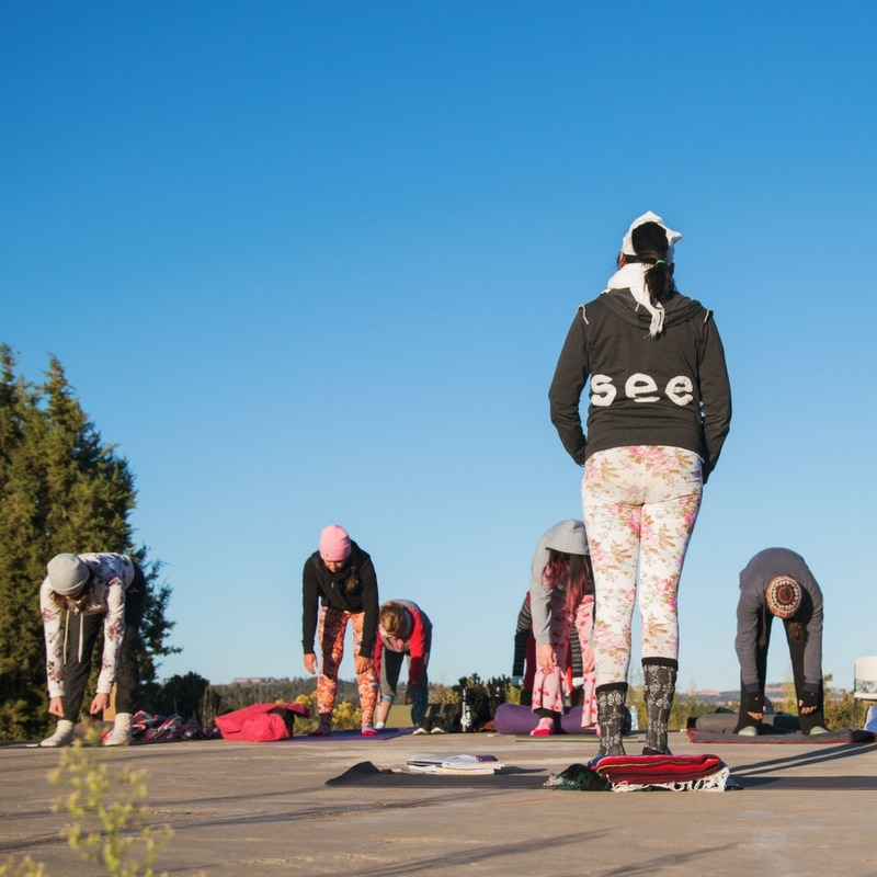 spark womens retreat yoga