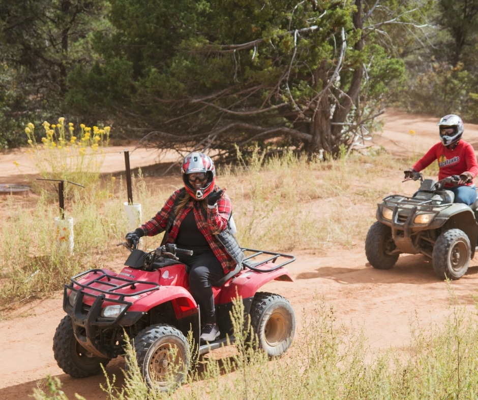 spark womens retreat atv trail ride zion national park