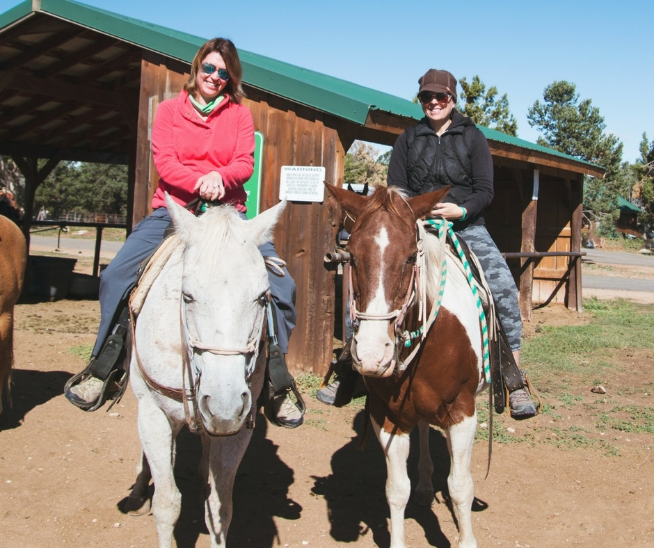 spark womens retreat horseback riding zion national park