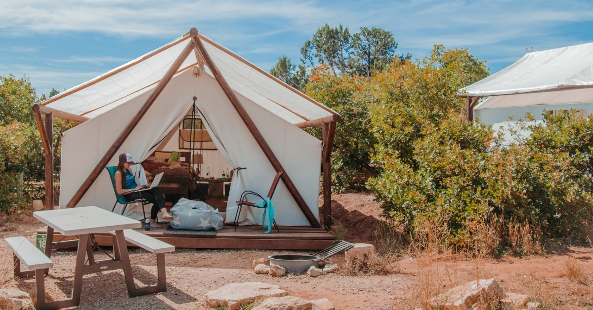 spark classic womens retreat packages glamping